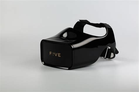 Fove Vr fove is a vr visor that includes eye tracking technology itworld