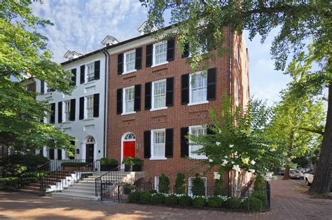 home design center washington dc federal style townhouse with restored exterior and