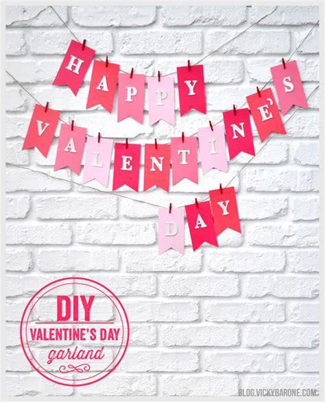 valentines day garland diy s day garland barone