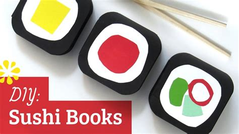 The Sushi Book by How To Make A Book Sushi Books