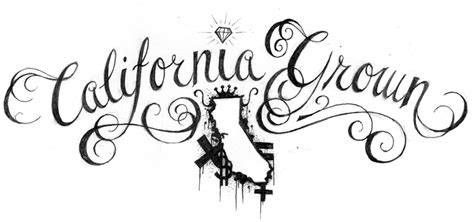 cali grown tattoo designs california sketch pictures to pin on