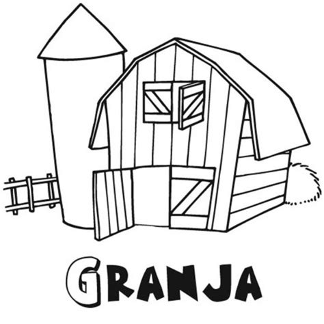 imagenes infantiles granja 50 dibujos de granjas y animales para colorear colorear
