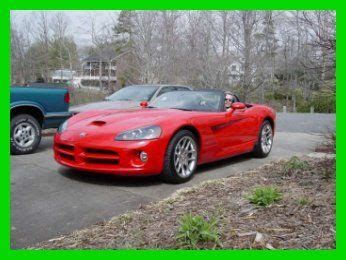 where to buy car manuals 2003 dodge viper spare parts catalogs sell new 2003 viper srt10 8 3l v10 20v manual rwd premium leather cd red in kings mountain