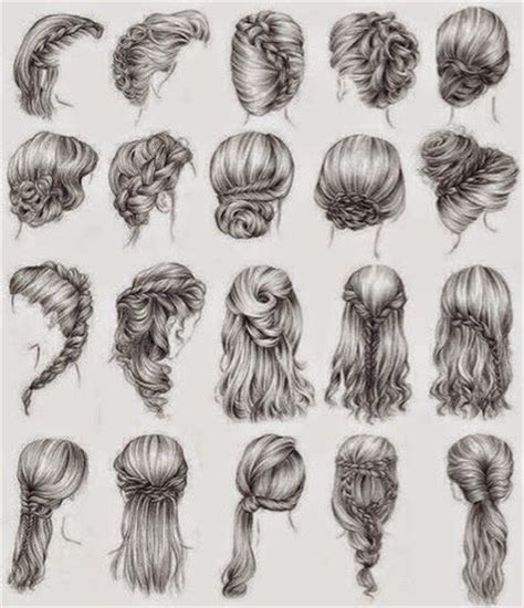 easy hairstyles to draw 17 best ideas about drawing hair on pinterest drawing