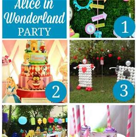 Mickey Mouse Home Decorations by Alice In Wonderland Party Ideas Catch My Party