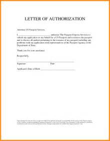 Template Letter Of 7 Letter Of Authority To Act On Behalf Mystock Clerk