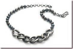 cadena de plata se hace negra larga vida al collar de perlas paperblog