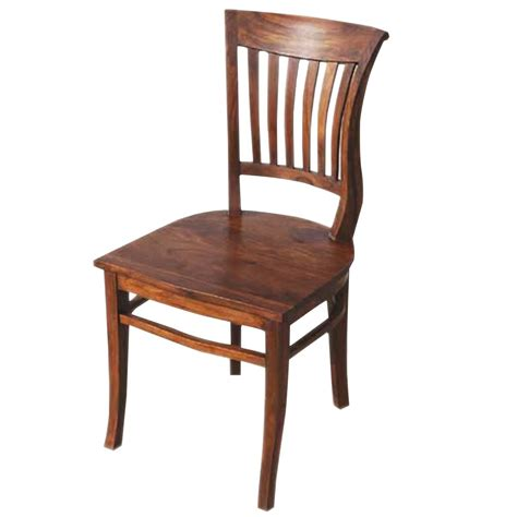 Solid Wood Dining Chairs Nevada Solid Wood Kitchen Side Dining Chair Furniture