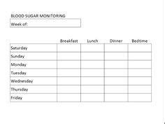 When Tracking Blood Sugar Levels You Can Use This Printable Log To Record Glucometer Readings Podiatry Soap Note Template