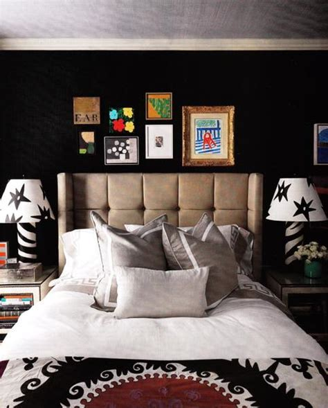 black and red bedroom walls zebra table ls contemporary bedroom eric kohler