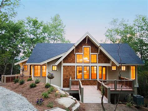 mountain home plans with photos popular mountain home plan 26666gg architectural