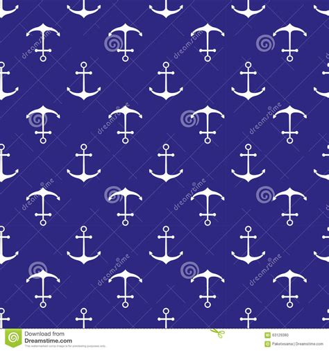 seamless nautical pattern seamless nautical pattern stock vector image 63129380