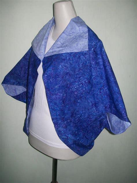Bolero Batik Dua Motif Bolak Balik bolero batik bolak balik dua sisi warna biru tua dan biru muda bl002 toko batik 2018