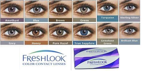 Softlens Freshlook Colorblends Hazel Flcb contact lenses