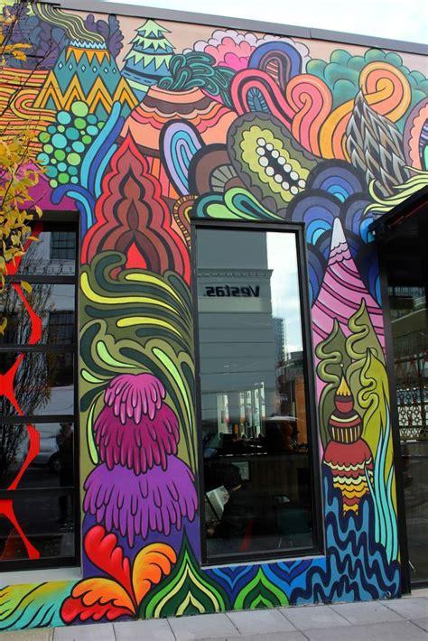 RATHER SEVERE: Mellow Mushroom Portland   street art