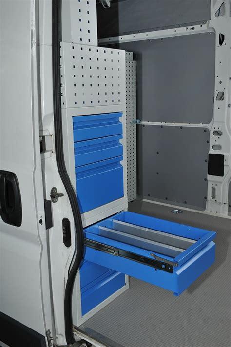cassettiere per furgoni cassetti per furgoni