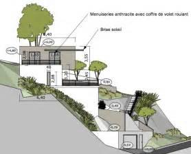 maison contemporaine sur un terrain en pente 224 l estaque