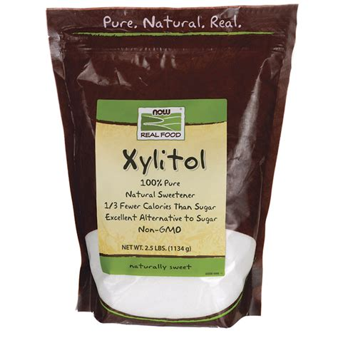 carbohydrates xylitol now foods xylitol 2 5 lbs pwdr swanson health products