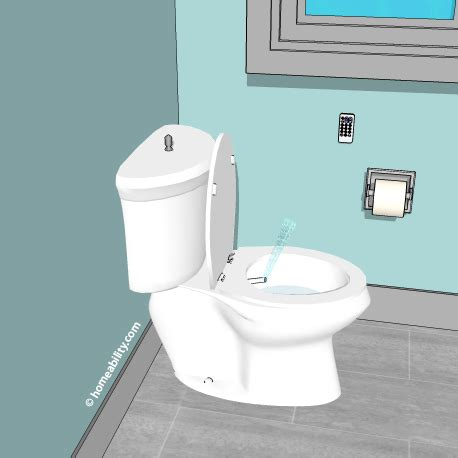 Bidet Toilet Combo by Accessible Toilets Toilet Equipment The Basics