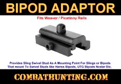 Jaket Mt020 bipod adapter for picatinny rail harris bipods mt020