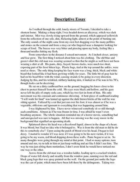 Descriptive Essays On The college essays college application essays descriptive essay exles