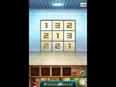 100 Floors Guide Annex by 100 Floors Annex Level 25 Walkthrough Guide