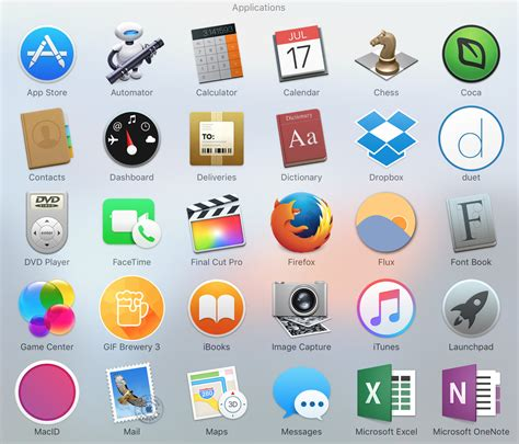 How to replace icons mac