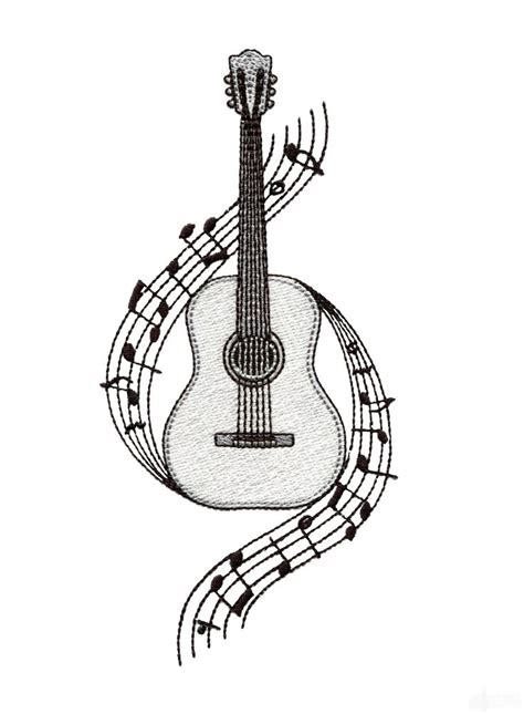 easy guitar book sketch 25 best ideas about guitar drawing on