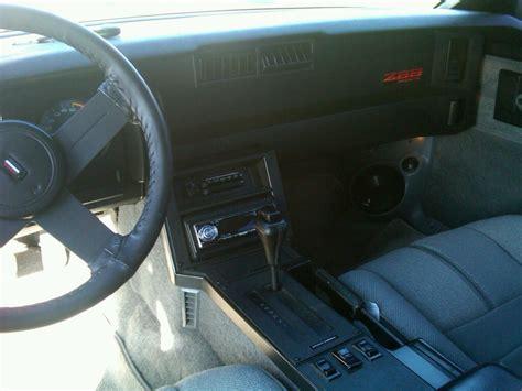 1989 Camaro Interior by 1989 Chevrolet Camaro Interior Pictures Cargurus