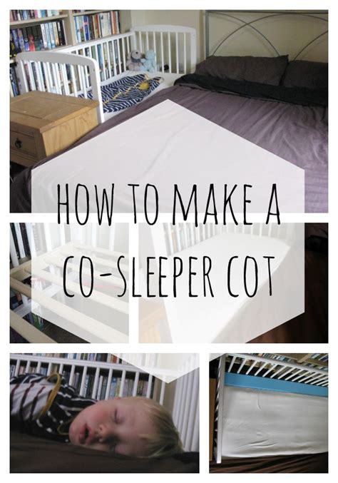 How To Throw A Sleeper how to make a co sleeper cot wonderfully average
