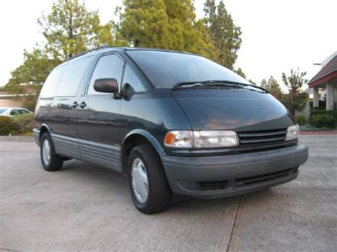 car owners manuals for sale 1997 toyota previa engine service manual auto body repair training 1997 toyota previa user handbook find used toyota