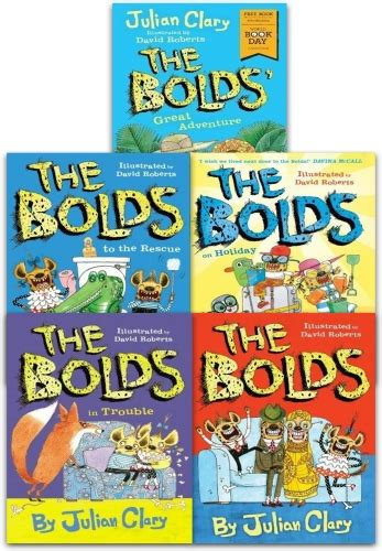 Julian Clary Bolds 5 Books Collection Set The Bolds The