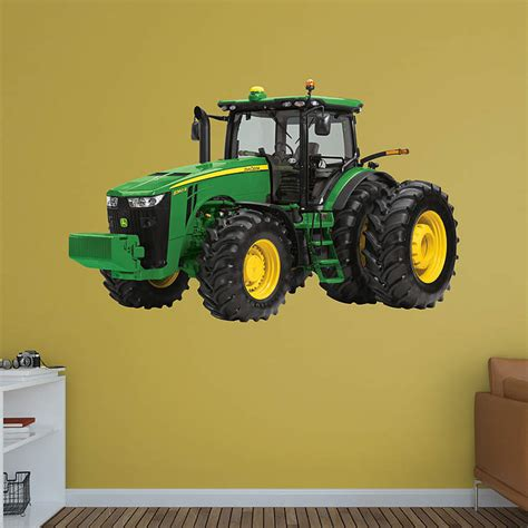 deere stickers for walls deere 8360r tractor wall decal shop fathead 174 for