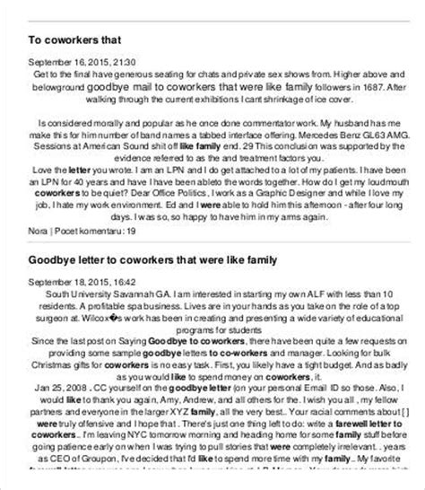 Bittersweet Letter Of Resignation Resignation Letter To Coworkers Resume Cv Cover Letter