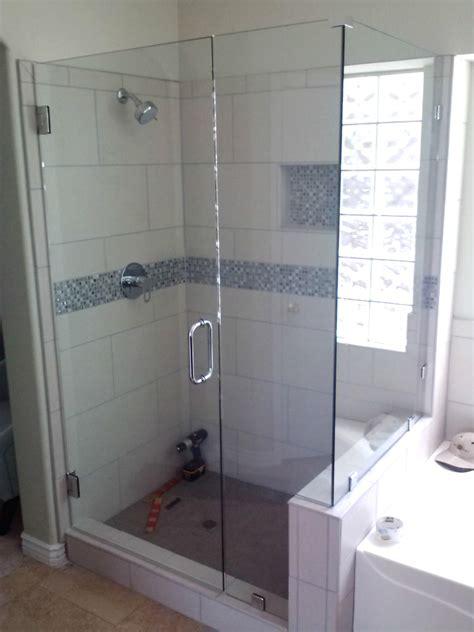 Shower Doors Tucson Arizona Shower Door Reviews Ove Decors Sydney 595in W X 590in H Frameless Bathtub Door View
