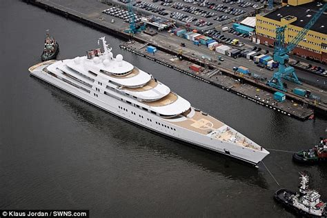 how long is the biggest boat in the world world s largest yacht set to stand 222metres long and cost