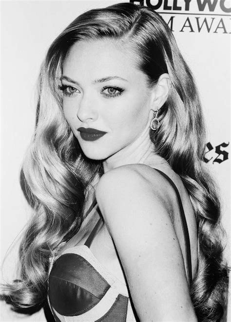 old holloywood glam hairstyles amanda seyfried people pinterest beautiful amanda