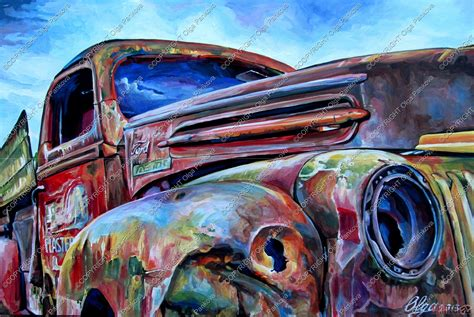painting boat bumpers art painting ford truck