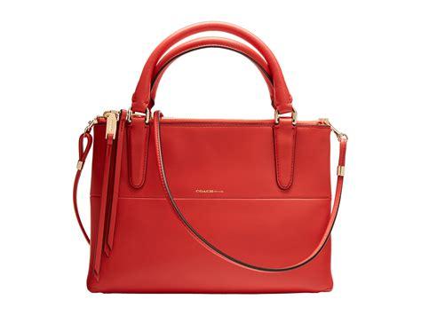 coach mini borough bag retro leather gold classic