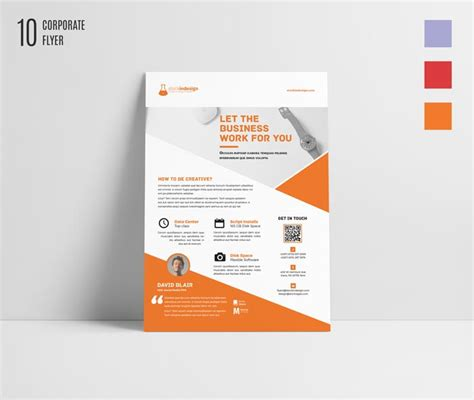 corporate flyer template workshop stockindesign free indesign bundle 10 corporate flyer templates
