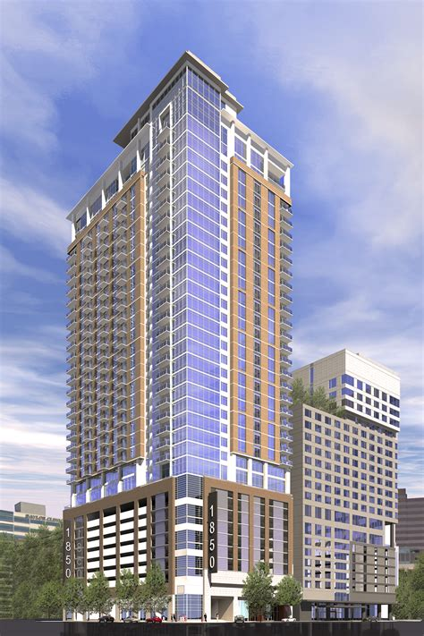 apartments in tower greystar and medistar announce plans for high rise apartment tower in center