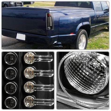 1997 chevy silverado tail lights 1997 chevy silverado black led tail lights a122m4dy109