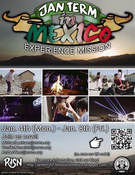 mvcs jan term trip  mexico current  mexico