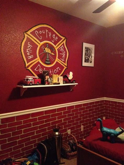 firefighter bedroom decor photos and
