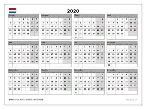 kalender  nederland michel zbinden nl