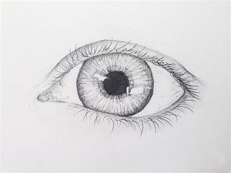 How To Make A Paper Eye - how to draw a realistic eye joe mcmenamin skillshare
