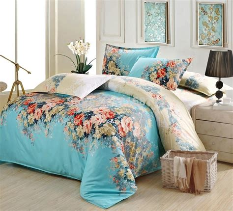 best fabric for bed sheets aliexpress com buy 4pcs blue frolar bedding set soft