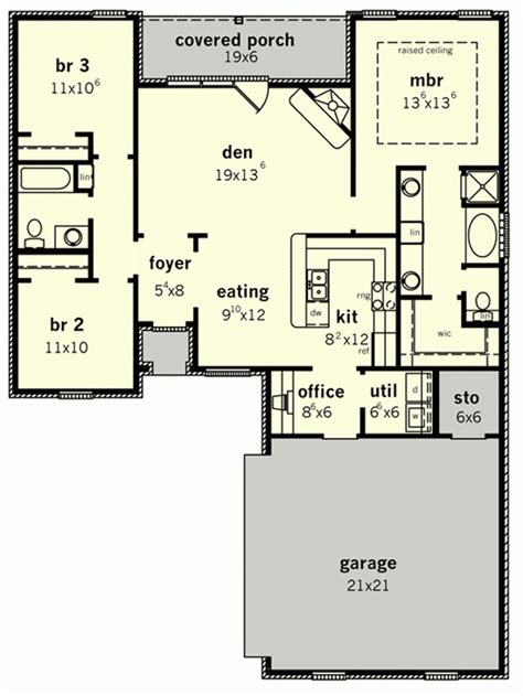 beautiful starter home floor plans new home plans design