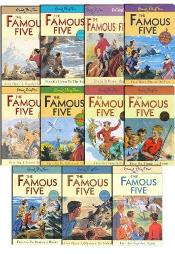 Five Books by Enid Blyton Five 11 To 21 11 Books Set New