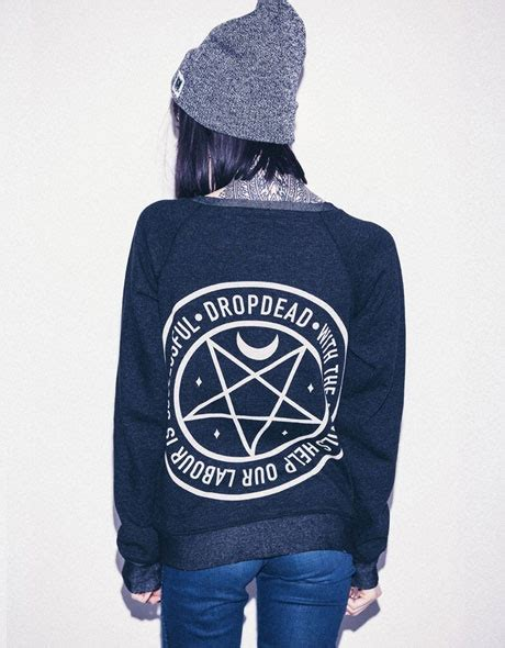 Hoodie Dropdead Hitam drop dead clothing product dropdead 3 cardigans beanie and products